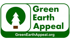 Carbon Free Events - Green Earth Appeal Logo